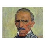 Retrato del guarda principal - Van Gogh Postal