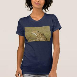 Retrato del guepardo 3 playera