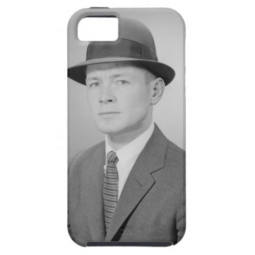 Retrato del hombre iPhone 5 fundas