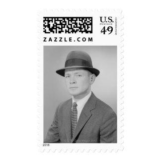 Retrato del hombre sellos
