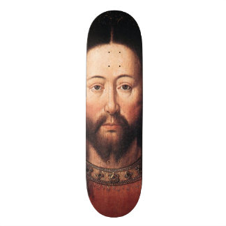 Retrato del Jesucristo en enero van Eyck Monopatin Personalizado