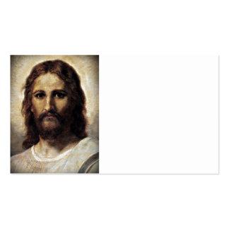 Retrato del Jesucristo Tarjeta De Visita