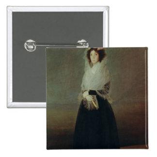 Retrato del la Solana de Marquesa de la condesa Pin Cuadrado