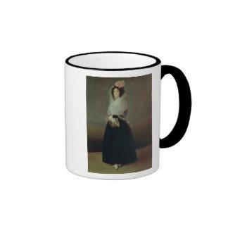 Retrato del la Solana de Marquesa de la condesa Tazas De Café
