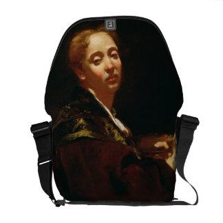 Retrato del lama de Julia (fl.1728) Bolsa De Mensajeria
