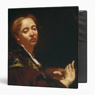 "Retrato del lama de Julia (fl.1728) Carpeta 1 1/2"""