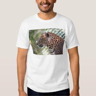 Retrato del leopardo remera