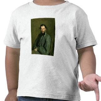 Retrato del lev Nikolaevich Tolstoy 1873 de la cue Camisetas
