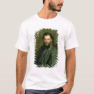 Retrato del lev Nikolaevich Tolstoy 1873 de la Playera