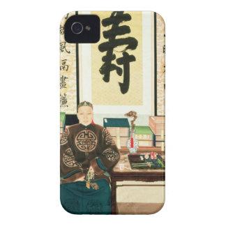 Retrato del Li-Lugar Ying, emperatriz Tzu-Hsi Funda Para iPhone 4