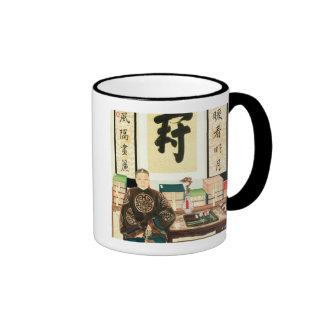 Retrato del Li-Lugar Ying, emperatriz Tzu-Hsi Taza De Dos Colores