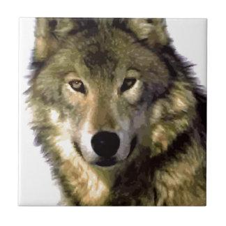 Retrato del lobo tejas