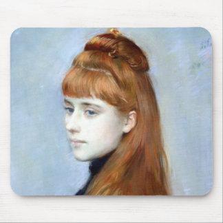Retrato del Mademoiselle Alicia Guerin Mouse Pad