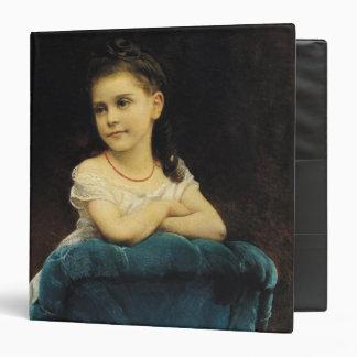 """Retrato del Mademoiselle Franchetti, 1877 Carpeta 1 1/2"""""""