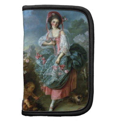 Retrato del Mademoiselle Guimard como Terpsícore,  Planificador