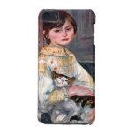 Retrato del Mademoiselle Julia Manet por Renoir