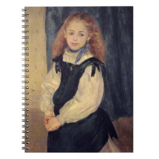 Retrato del Mademoiselle Legrand Libros De Apuntes Con Espiral