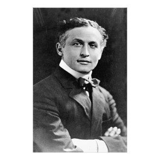 Retrato del mago americano Harry Houdini Fotografía