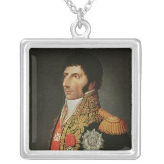 Retrato del mariscal Charles Jean Bernadotte Colgante Cuadrado