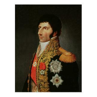 Retrato del mariscal Charles Jean Bernadotte Tarjeta Postal