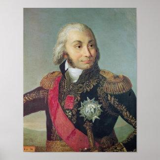 Retrato del mariscal Jean-Baptiste Jourdan Impresiones