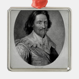 Retrato del marqués de Vieu Ville Adornos