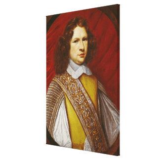 Retrato del marqués del d Effiat de Coeffier de Ru Impresión En Lona