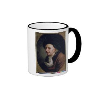 Retrato del matemático Leonard Euler Taza De Café