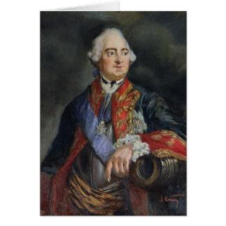 Retrato del matemático Leonhard Euler Felicitacion