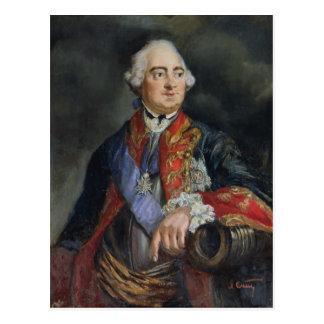 Retrato del matemático Leonhard Euler Postal