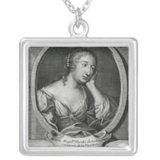 Retrato del medallón de señora de La Fayette