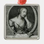 Retrato del medallón de señora de La Fayette Ornatos