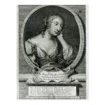 Retrato del medallón de señora de La Fayette Tarjetas Postales