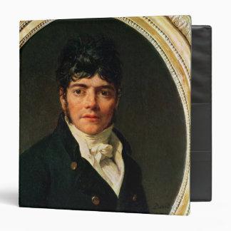 "retrato del medallón del Comte Esteve, 1804 Carpeta 1 1/2"""