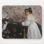 Retrato del Mlle. Hortense Valpinçon, c.1871 Mousepad