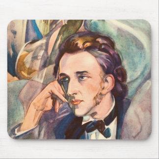 Retrato del músico del compositor de Federico Chop Tapetes De Ratones