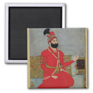 Retrato del nadir Shah Afshar de Persia (1688-1747 Imán Cuadrado