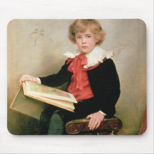 Retrato del normando Stewart Davies Alfombrillas De Raton