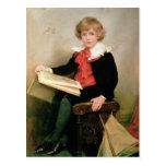 Retrato del normando Stewart Davies Tarjetas Postales