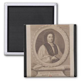 Retrato del obispo de George Berkeley Imán Cuadrado