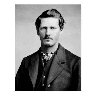 Retrato del oeste viejo de los representantes de postal