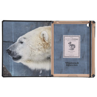 Retrato del oso polar iPad coberturas