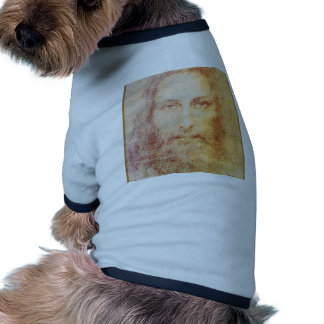 retrato del papiro del vintage de la cura del Jesu Camiseta De Perro