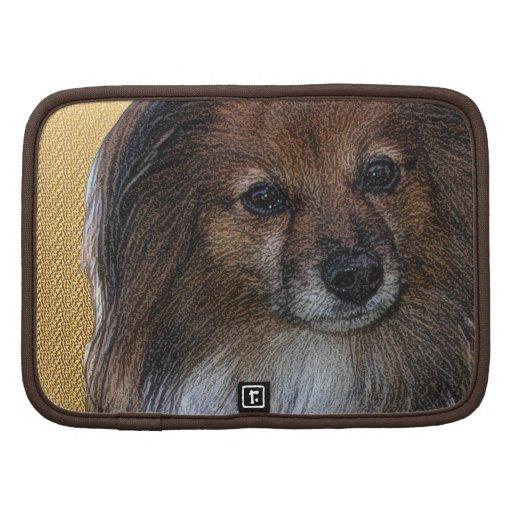 Retrato del perro organizadores