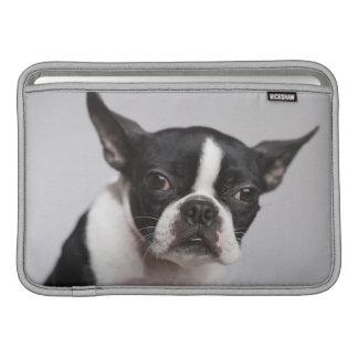 Retrato del perro fundas para macbook air