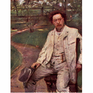 Retrato del pianista Conrado Ansorge por Corinto Esculturas Fotográficas