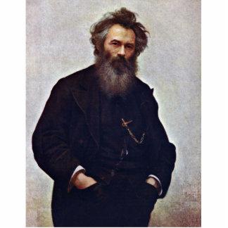 Retrato del pintor Ivan Shishkin de Ivan Niko Esculturas Fotográficas