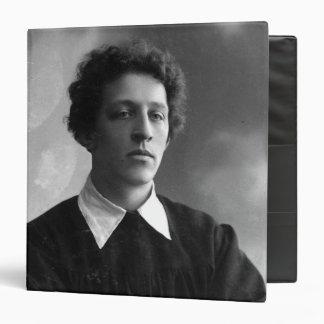 """Retrato del poeta Alexander Blok Carpeta 1 1/2"""""""