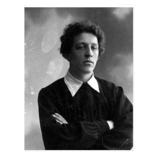 Retrato del poeta Alexander Blok Tarjetas Postales
