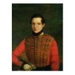 Retrato del poeta Michail Lermontov Postales